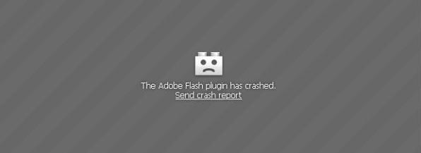 Google Chrome Adobe Flash crash