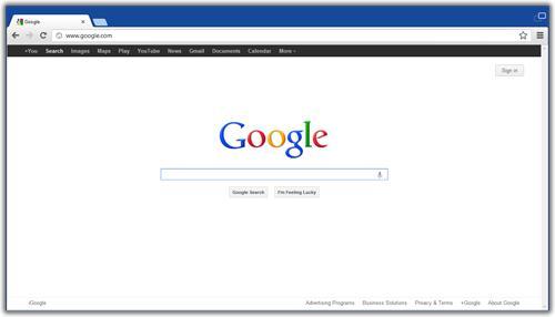Google Chrome Windows 8