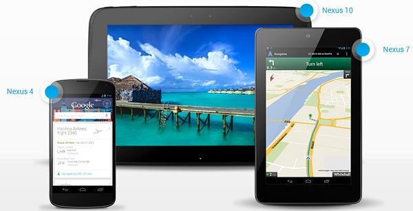 Google Nexus Line-up