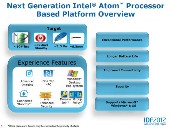 Intel Clover Trail: ARM battery-life with x86 Windows 8 experience