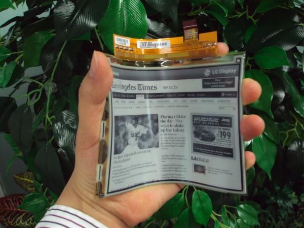 LG e-paper
