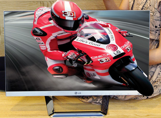 LG 3D IPS DM92 monitor