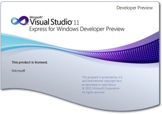 Microsoft Visual Studio 11 Express