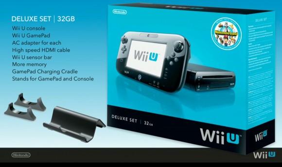 Nintendo Wii U Black 32GB Premium Pack