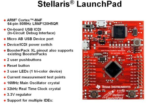 TI stellaris LaunchPad