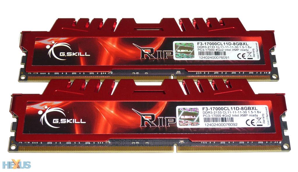 Review: G.Skill RipjawsX (F3-17000C11D-8GBXL) - RAM - HEXUS.net