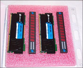 Corsair CMXP512-3200XL box open
