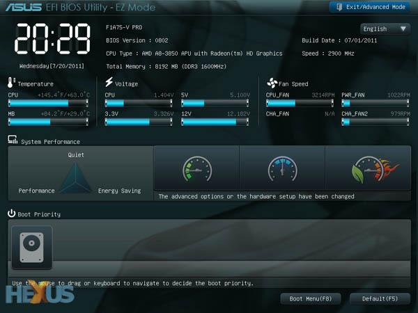 ASUS F1A75-V PRO AMD Llano motherboard review - Mainboard