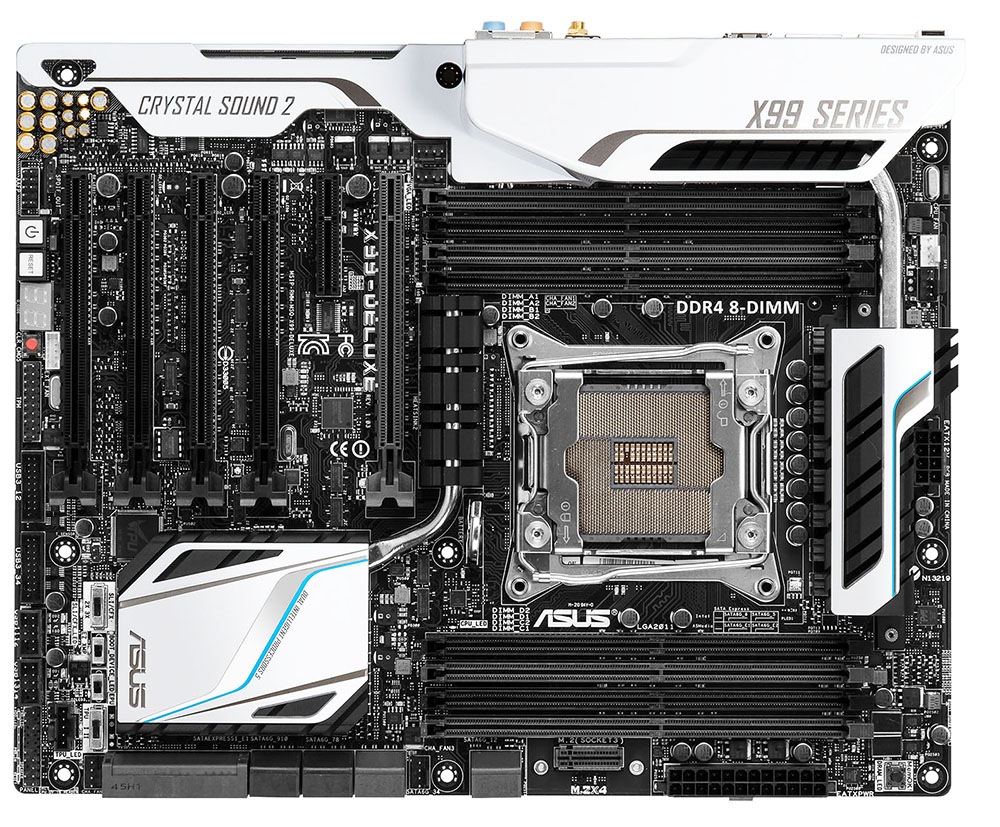 Asus Lga 2011-v3 The Massive Lga 2011-v3 Socket