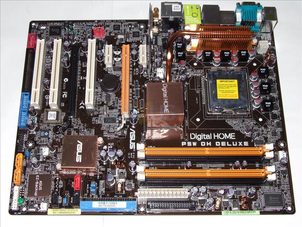 Review: ASUSTeK P5W DH i975X mainboard - Mainboard - HEXUS ...