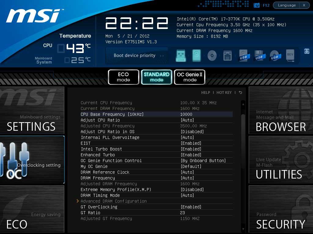 Review: MSI Z77A-GD55 Intel Ivy Bridge motherboard - Mainboard