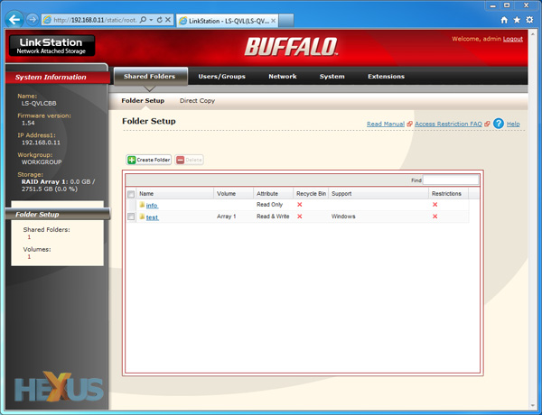 Review: Buffalo LinkStation Pro Quad 4TB - Storage - HEXUS net