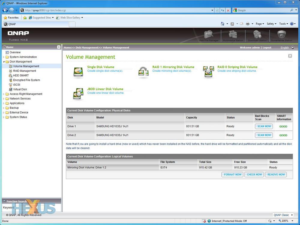 QNAP TS-259 Pro+ Turbo NAS review - Storage - HEXUS net - Page 2