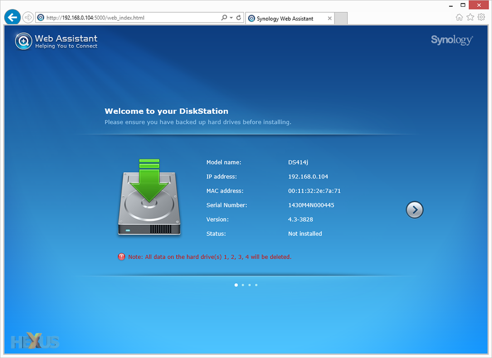 Synology Windows Search Index