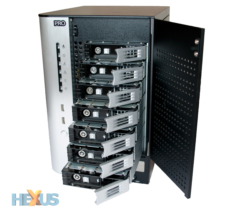 thecus n7700pro 10gbe nas reviewed and rated storage page 8. Black Bedroom Furniture Sets. Home Design Ideas