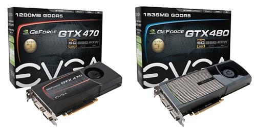 EVGA serves up custom GTX 480 and GTX 470 graphics cards - Graphics