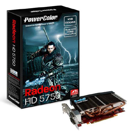 PowerColor brings a sense of serenity to AMD's ATI Radeon HD 5750450