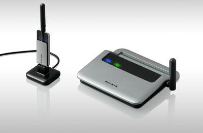 Belkin's Wireless USB Hub