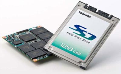 Toshiba's 128GB SSD