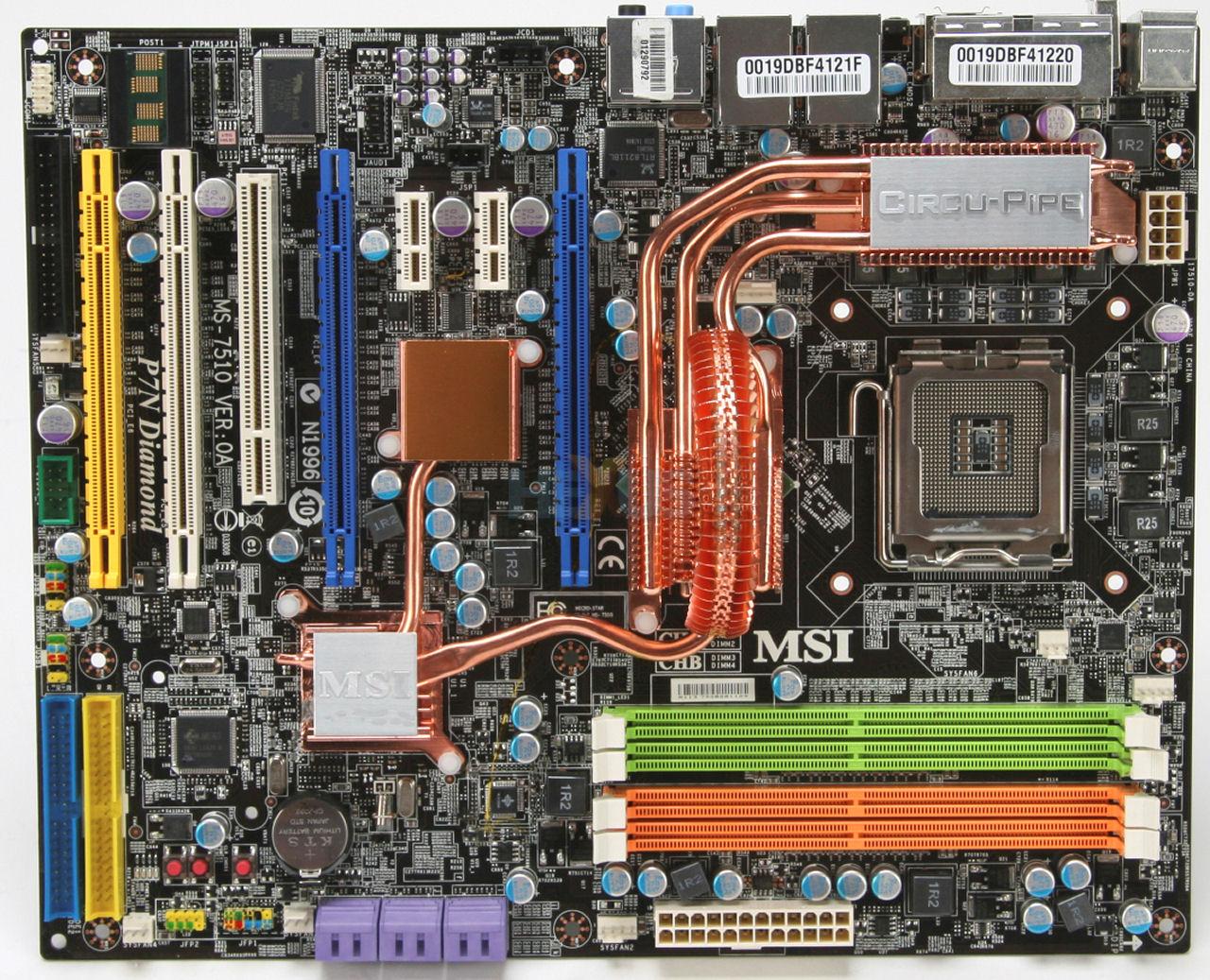 motherload msi n1996
