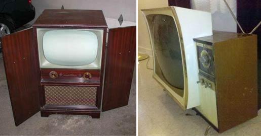 Old TV furniture