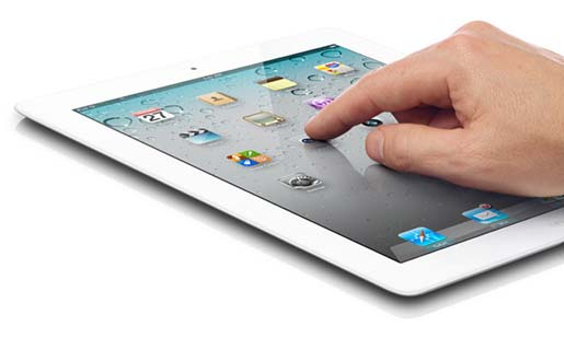 An iPad 2 yesterday