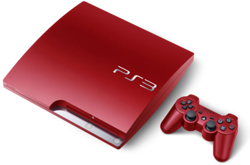 New to the UK - red PS3