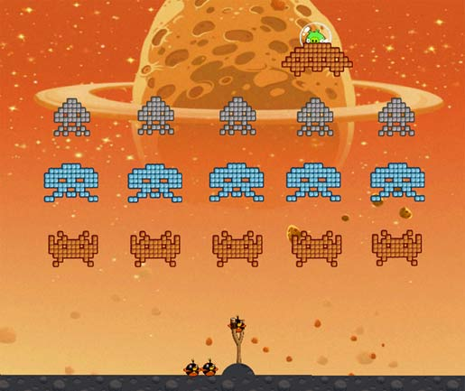 Angry Space Bird Invaders