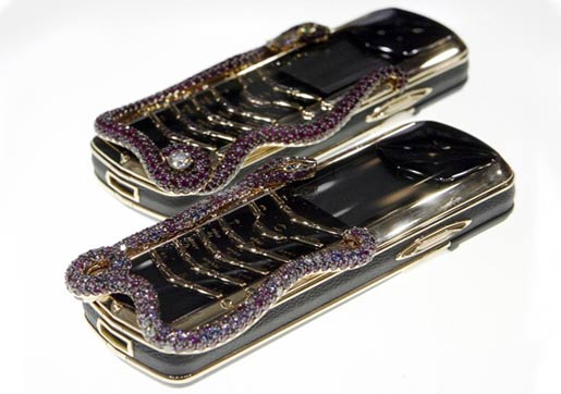 Vertu bling phone