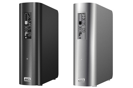 Western Digital adds e-label display to My Book external