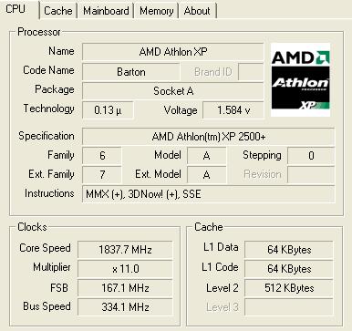 Review: AMD XP2500+ Barton 'AQXEA' - Cooling - HEXUS net