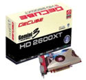 GECUBE GEMINI 3 - The world 1st dual-GPU Radeon HD2600XT X2 DirectX® 10 graphics card with on-board 1Gbyte memory and Simultaneous Quad DVI display