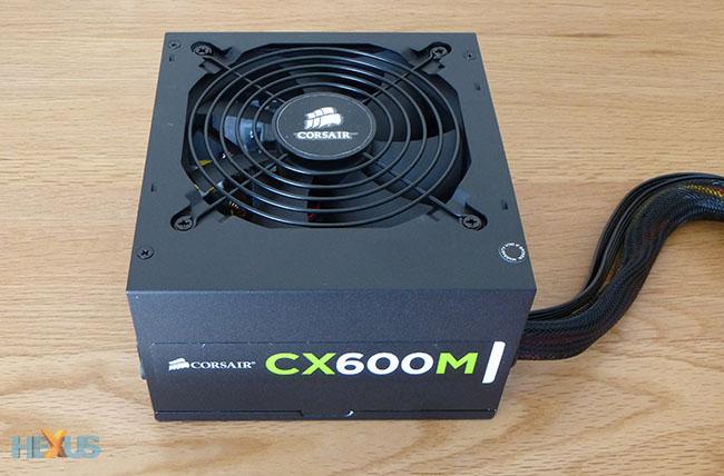 Review: Corsair CX Series Modular CX600M ATX Power Supply