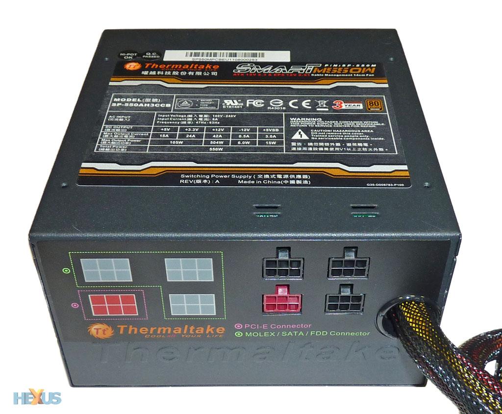 Review: Thermaltake Smart M550W PSU - PSU - HEXUS net