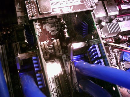 Water-cooled SLI